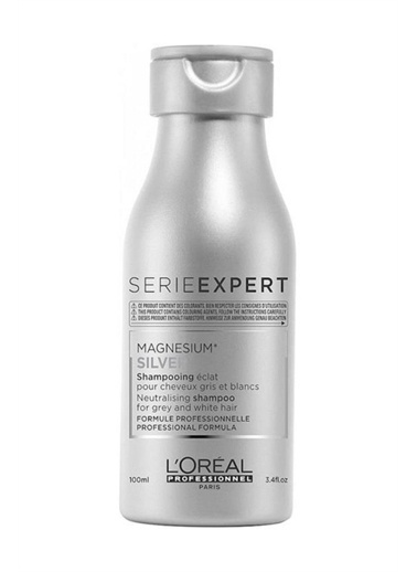 L'oreal Professionnel Serie Expert Magnesium Silver Şampuan 100 ml Gümüş